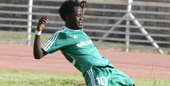 KCB striker Ezekiel odera.