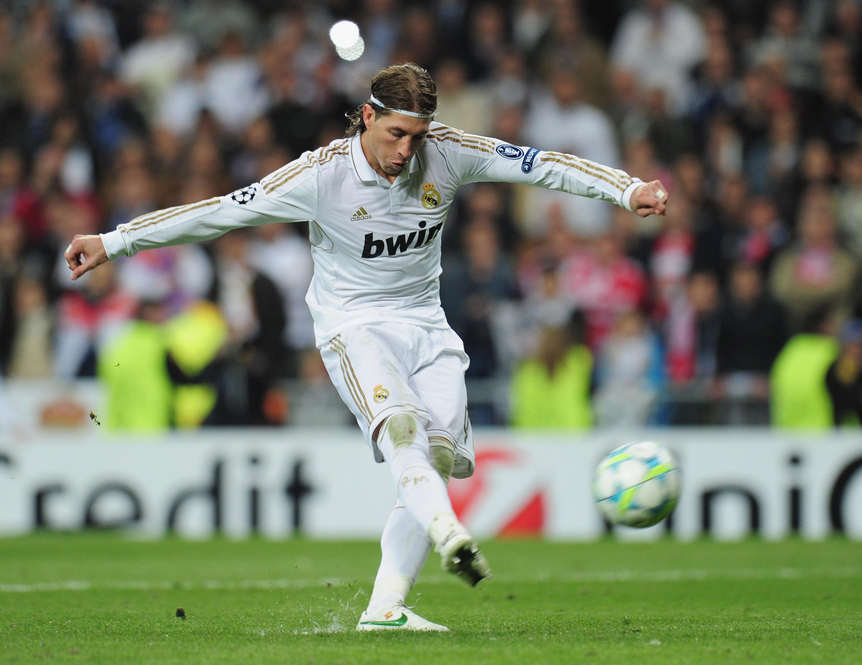 Sergio Ramos Real Madrid Bayern Munich 04252012