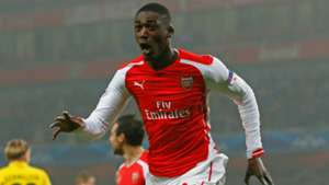 Yaya Sanogo Arsenal Champions League 2014