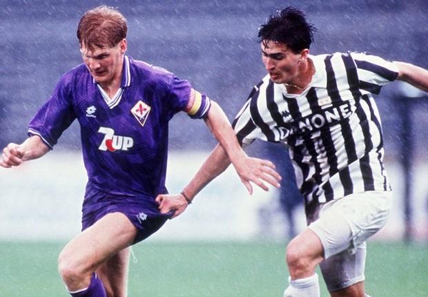 Stefan Effenberg Dino Baggio Fiorentina Juventus 1993