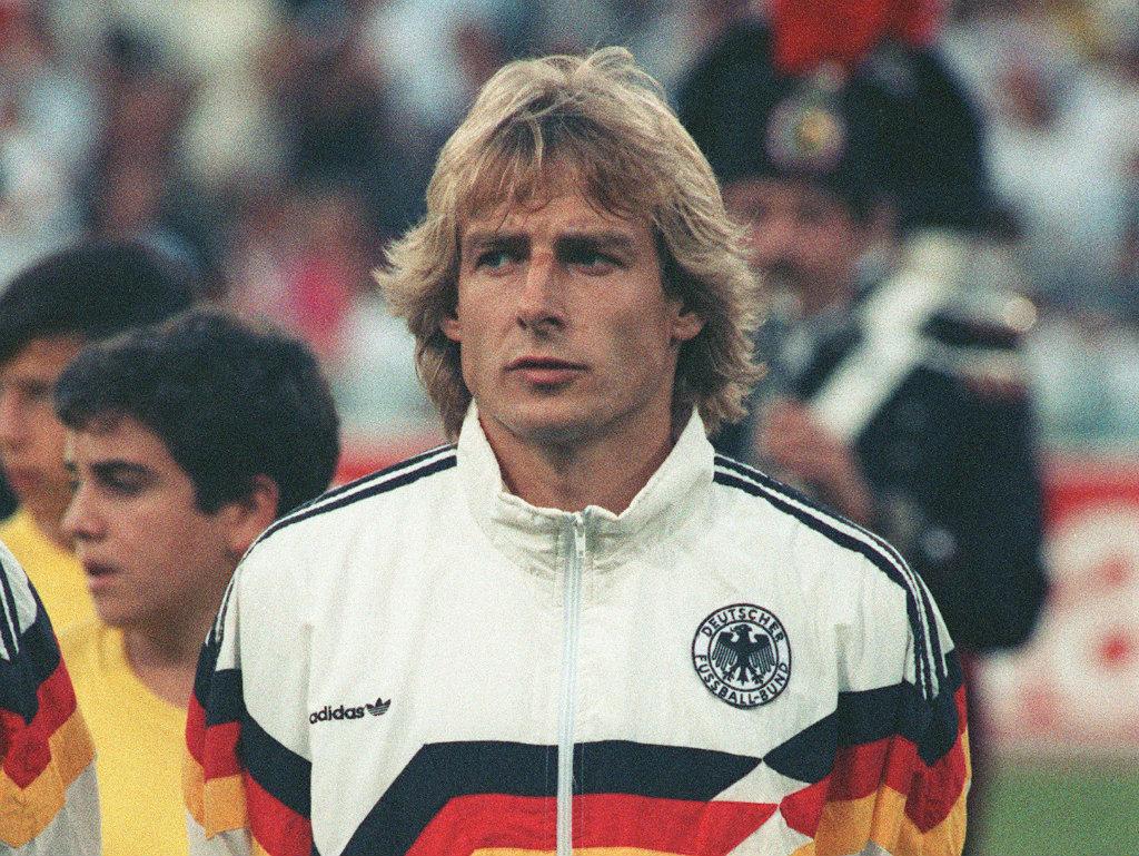 Jurgen Klinsmann West Germany World Cup 07031990