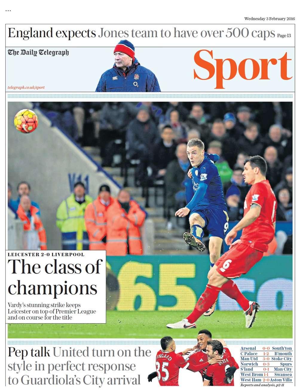 Telegraph Feb 3