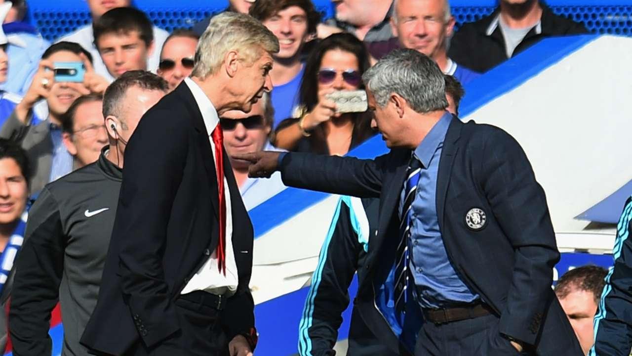 Arsene Wenger & Jose Mourinho