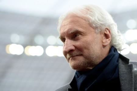Bayer Leverkusen sporting director Rudi Voller