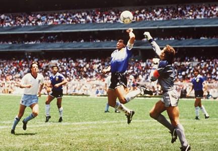 Diego Maradona Hand of God World Cup 1986