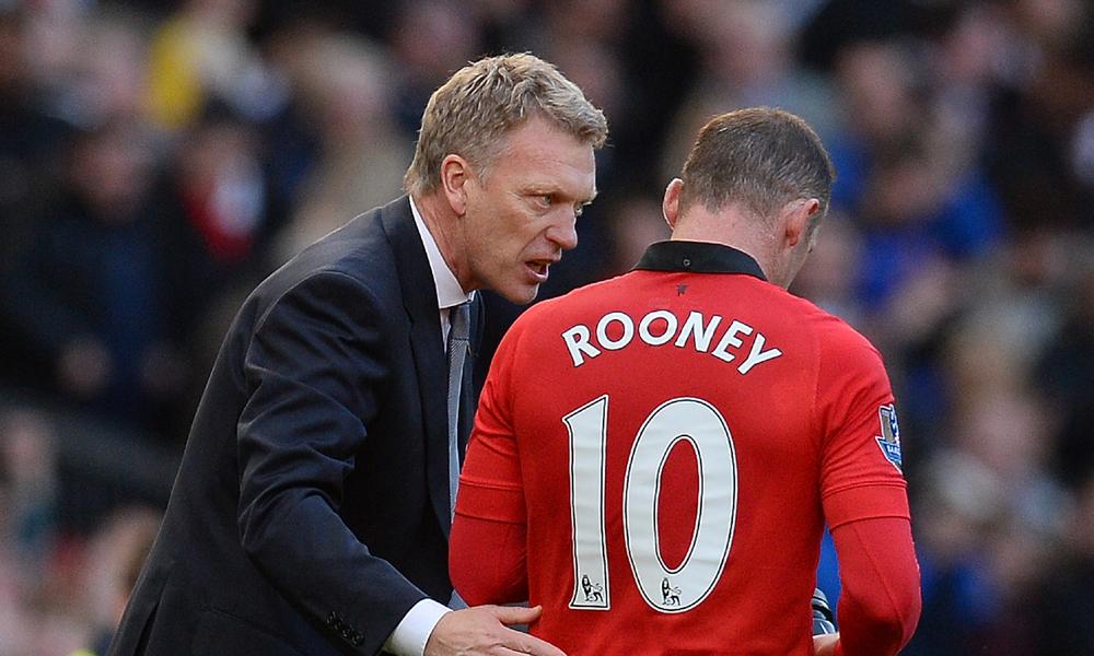 David Moyes Wayne Rooney Manchester United