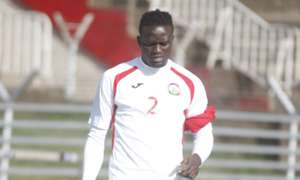 Kenya midfielder Macdonald Mariga