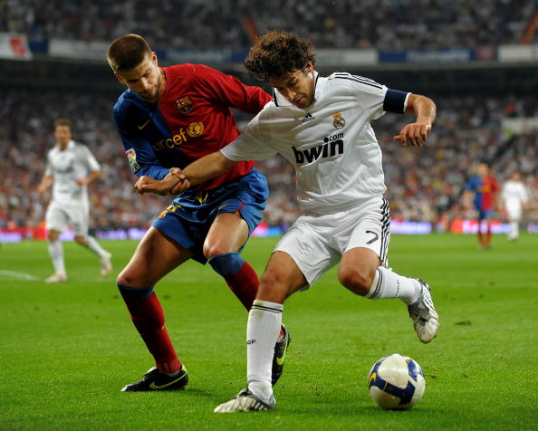 Gerard Pique & Raul Gonzales - Barcelona & Madrid 2009