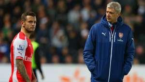 Jack Wilshere Arsene Wenger Arsenal Premier League 05052015