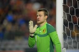 Belgian goalkeeper Simon Mignolet