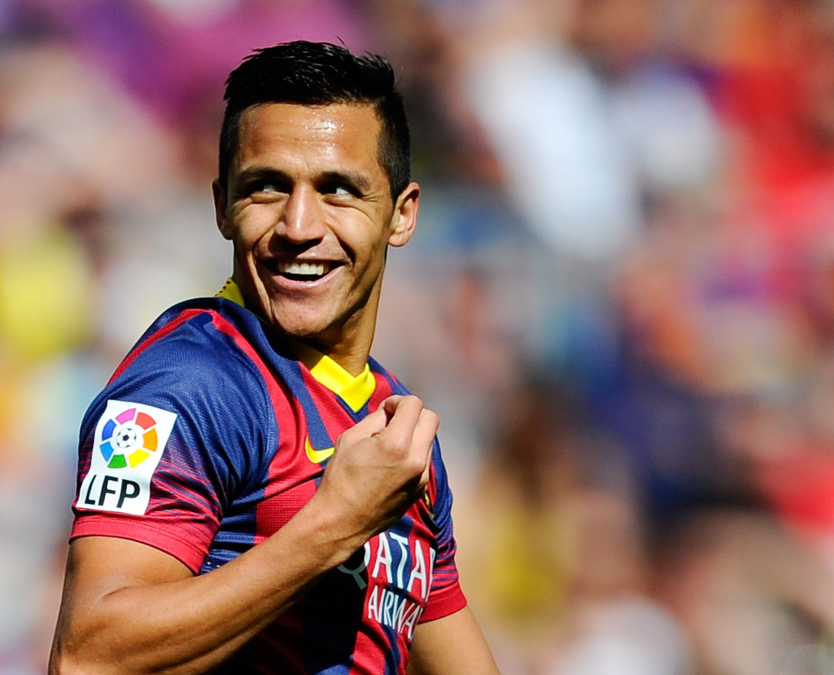 Barcelona forward Alexis Sanchez