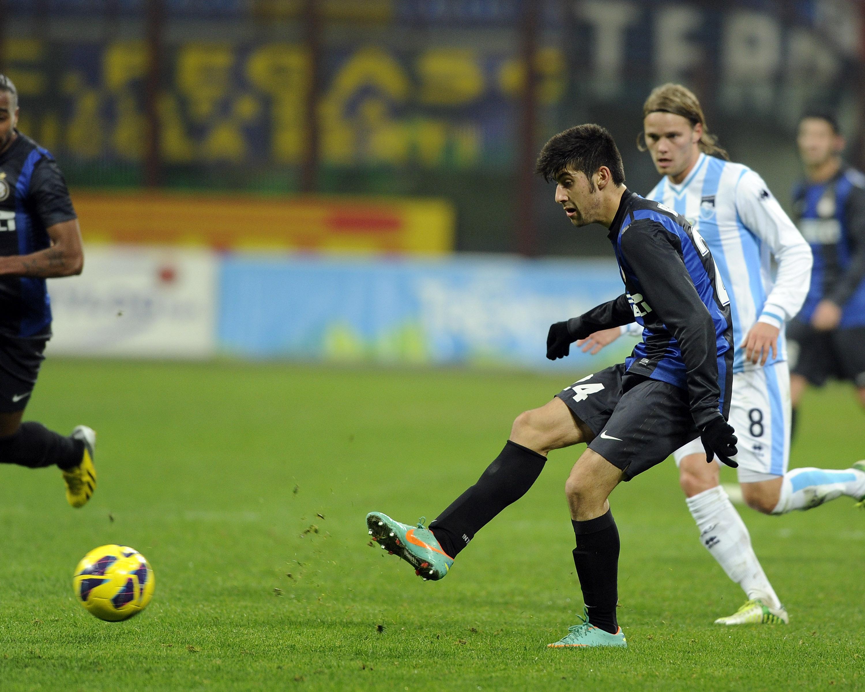 Marco Benassi, Birkir Bjarnason - Inter v Pescara - Serie A
