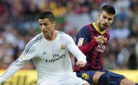 Cristiano Ronaldo vs Gerard Pique, Real Madrid vs FC Barcelona