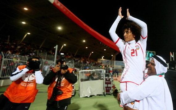 UAE winger Omar Abdulrahman (Goal 50)