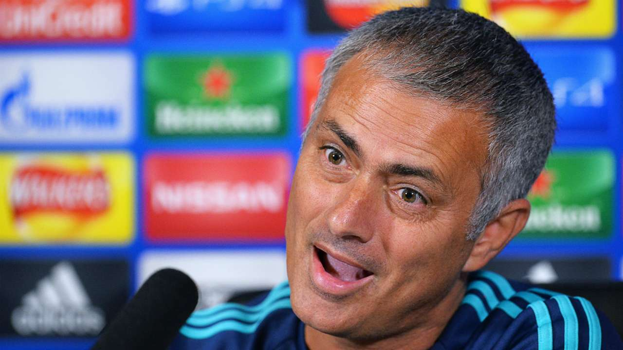 Jose Mourinho Chelsea Champions League 15092015