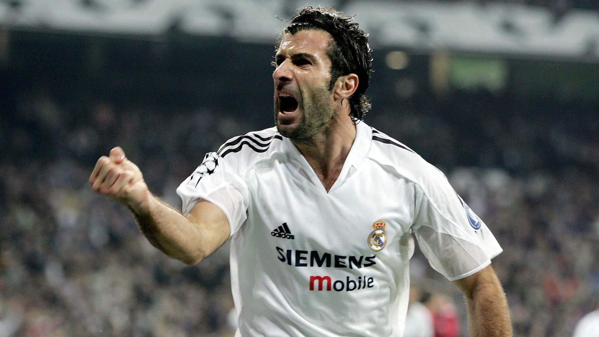 Luis Figo Real Madrid Champions League