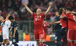 Arjen Robben FC Bayern Muenchen Manchester United - UEFA Champions League 04092014