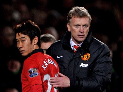 Shinji Kagawa David Moyes Manchester United Norwich City Premier League 12282013