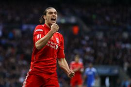 Andy Carroll during Liverpool playing days