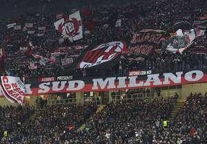 Tifo Milan a San Siro
