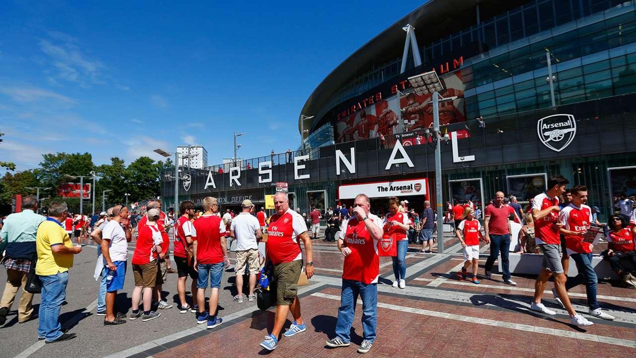 Emirates Stadium Arsenal West Ham Premier League 09082015