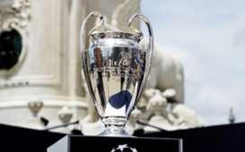 Champions League cup Lisbon