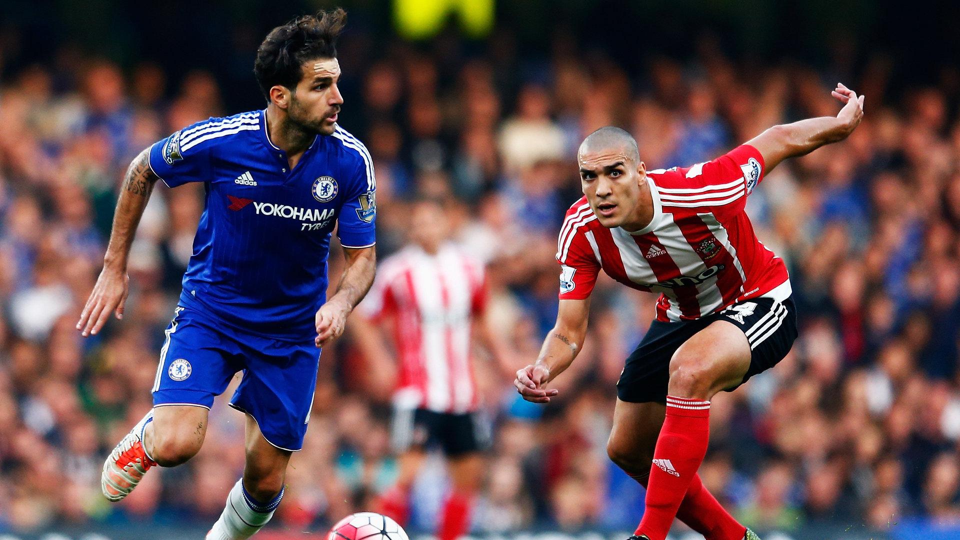 Cesc Fabregas Oriol Romeu Chelsea Southampton