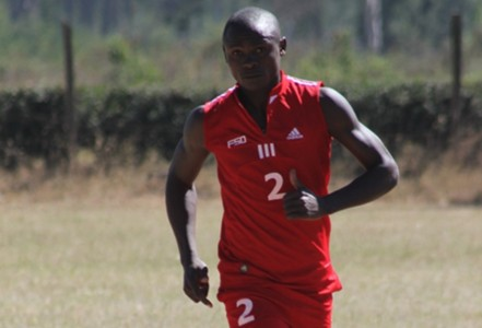 Ulinzi Stars striker Geoffrey Kokoyo.