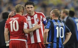 Robben, Van Bommel and Sneijder - Bayern - Internazionale