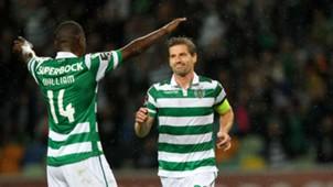 Adrien Silva scores for Sporting
