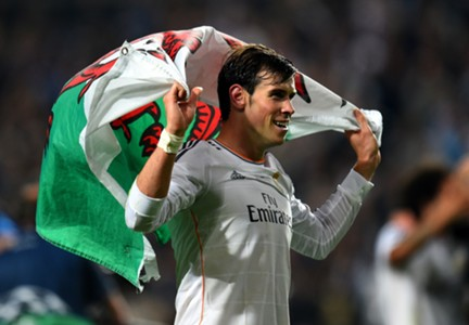 Gareth Bale Real Madrid Atletico Madrid Champions League final 05242014