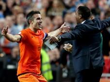 Robin Van Persie, Patrick Kluivert - Netherlands vs Hungary 11102013