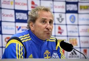 Sweden coach Erik Hamren