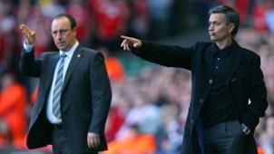 Jose Mourinho Rafael Benitez 2008