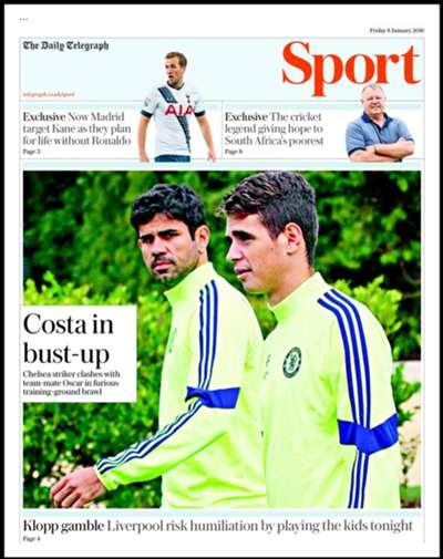 Daily Telegraph 08012016