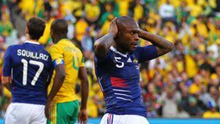 William Gallas France World Cup 2010