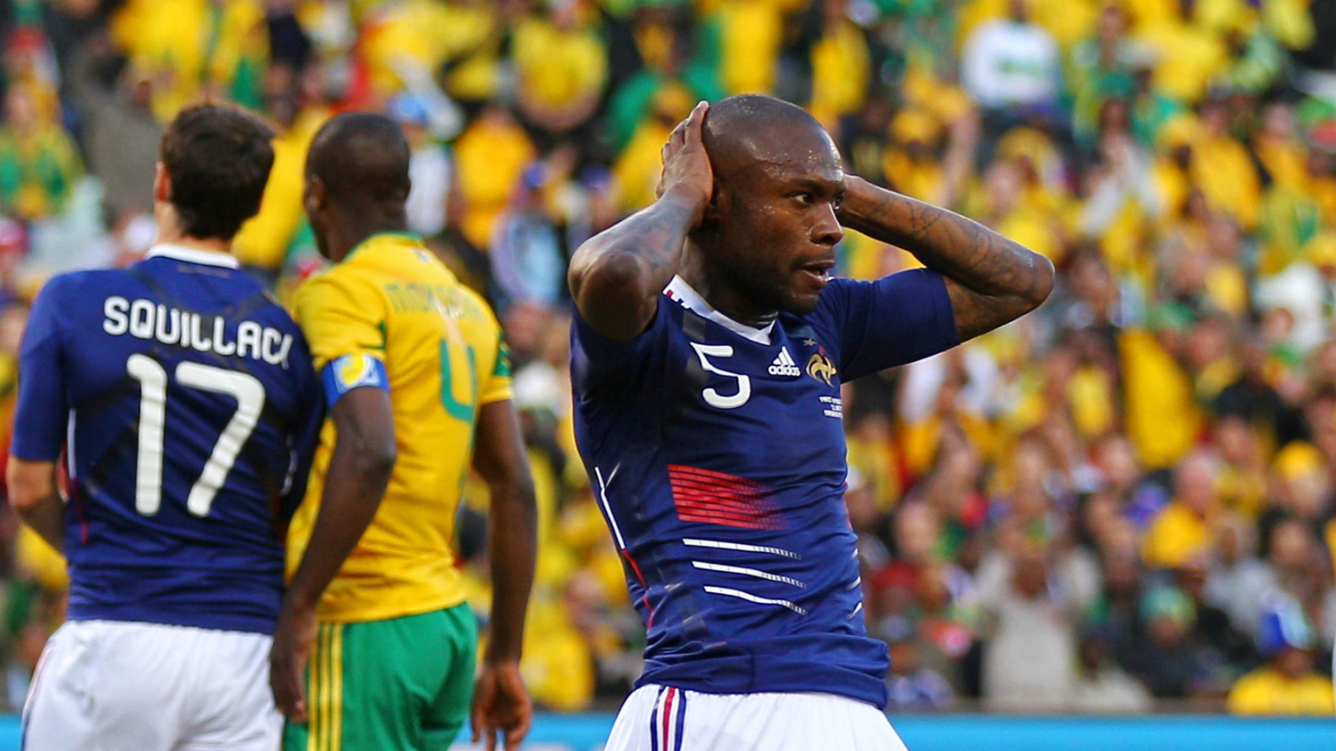 William Gallas France World Cup 2010