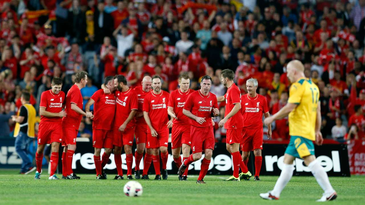 Liverpool Legends vs Australian Legends