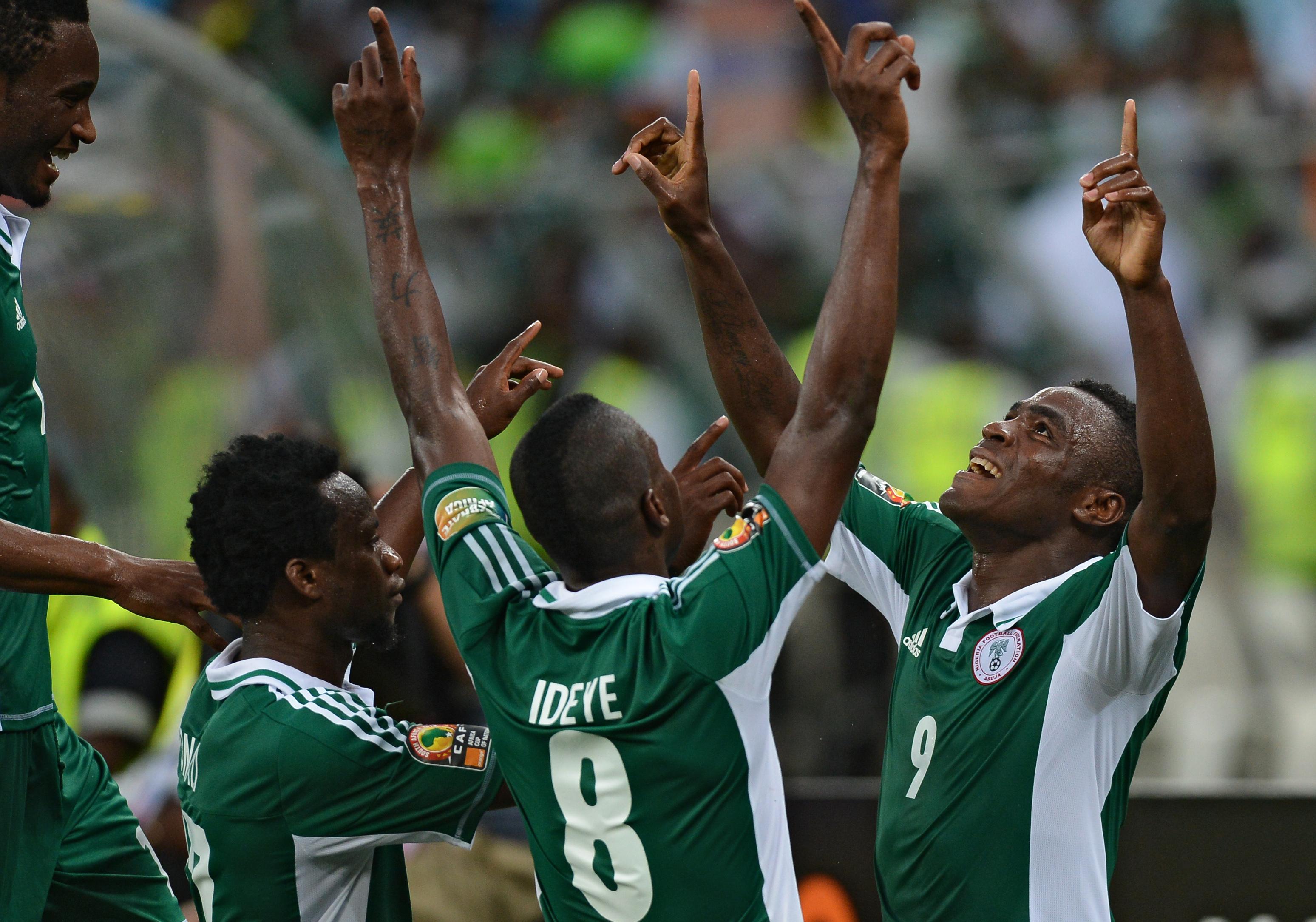 Nigeria striker Emmanuel Emenike