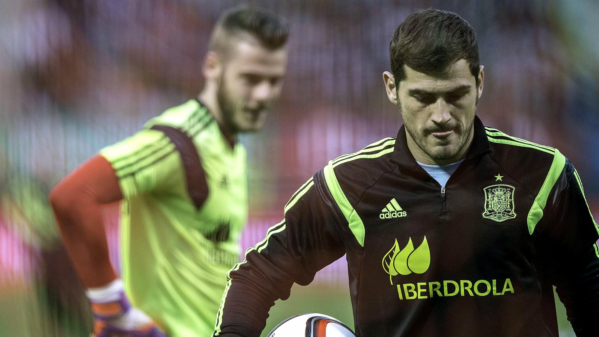Iker Casillas David De Gea Spain Goalcom