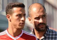 Thiago Alcantara & Pep Guardiola, Bayern Munich