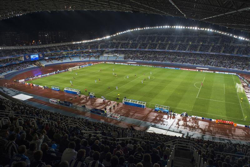 ผลการค้นหารูปภาพสำหรับ estadio municipal de anoeta