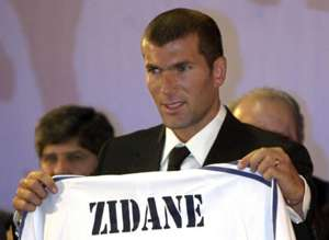 Zinedine Zidane, 2001