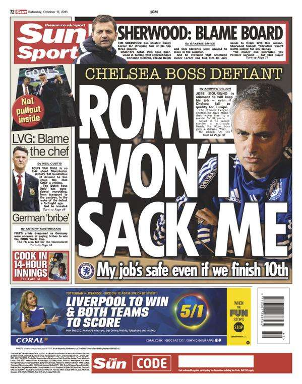 The Sun backpage 17102015