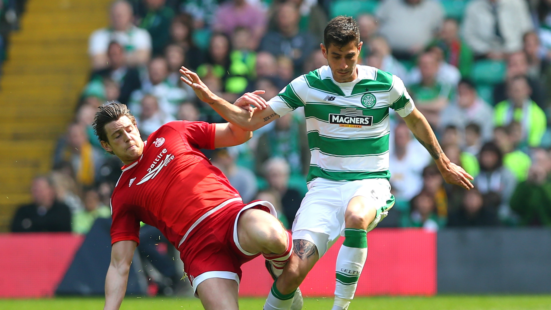 HD Tom Rogic Celtic Aberdeen 080516