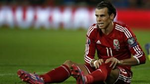 Gareth Bale Euro 2016 qualifying Wales v Bosnia 101014