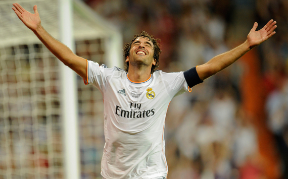 Raul Gonzalez Real Madrid vs Al-Sadd SC 2013