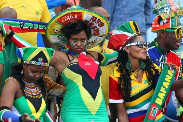 South Africa (Bafana) fans