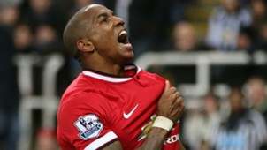 Ashley Young Premier League Newcastle v Manchester United 040315