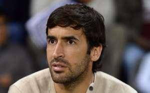Raul Gonzales watching a friendly of Bayern Munich vs Al Merikh in Katar, 1/9/14